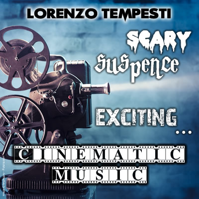 Copertina di Scary, suspence, exciting… cinematic music
