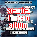 Scary, suspence, exciting... cinematic music CD